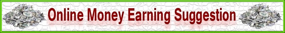 Online Money Earning and Outsourcing Suggestion.
