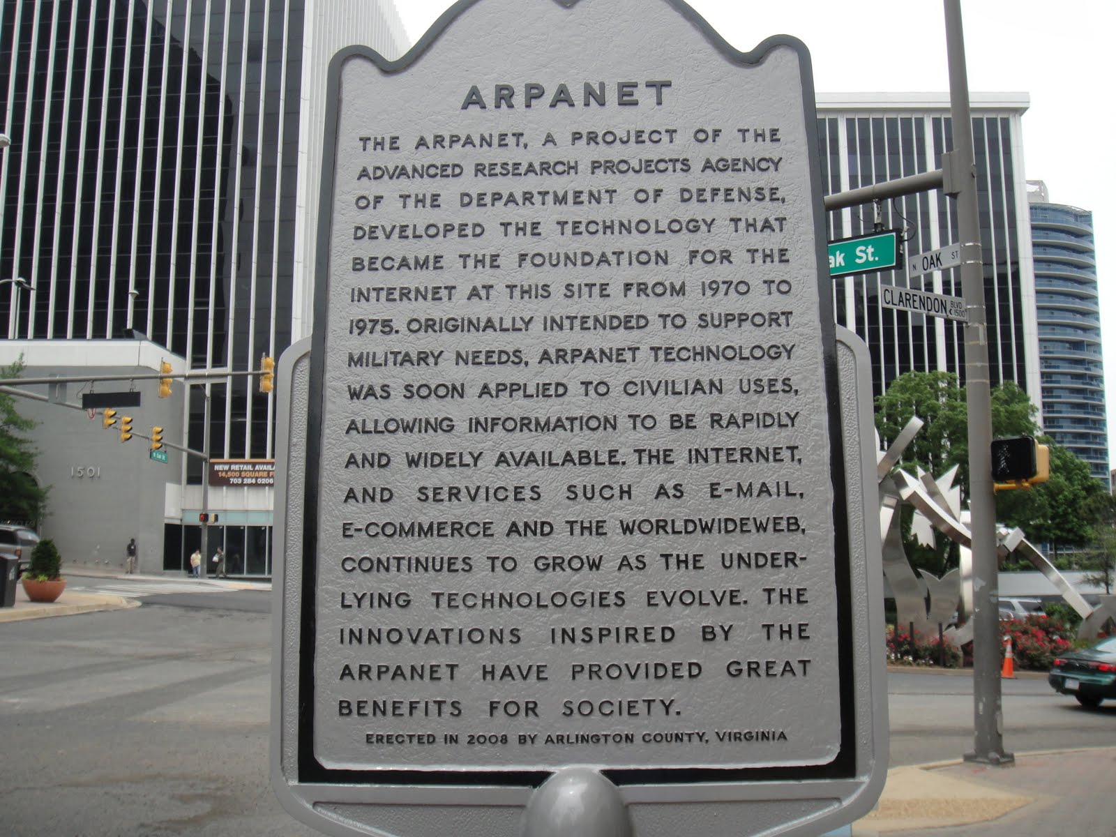 a history of arpanet Arpanet was the first time a networked computer spoke to another  they had  quotes ready for history, and we still remember those quotes.