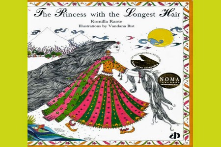 The Princess With the Longest Hair by Komilla Raote