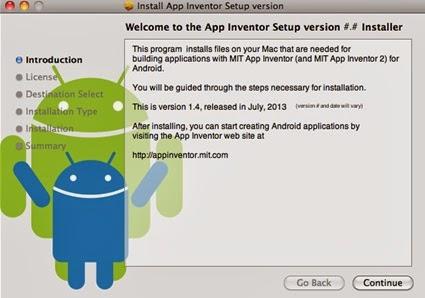 Como Instalar App Inventor 2 en Mac OS X