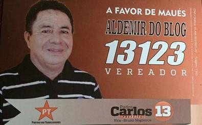 VOTE ALDEMIR DO BLOG 13.123