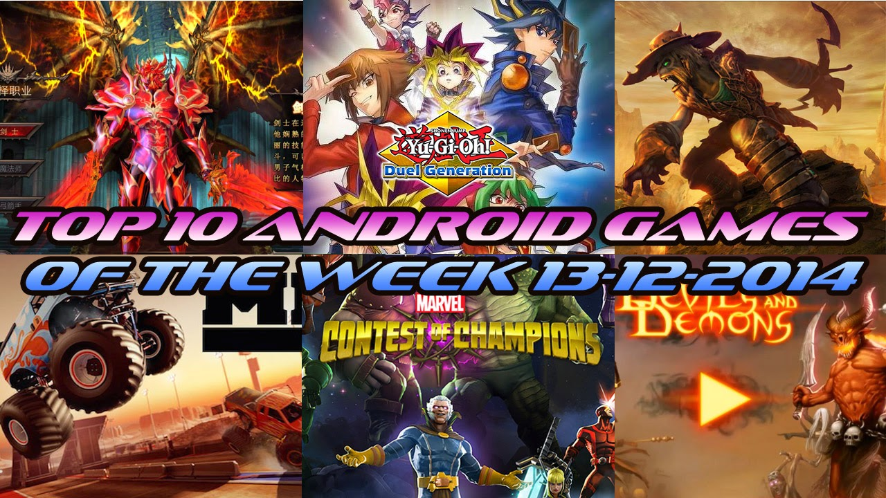 TOP 10 BEST NEW ANDROID GAMES OF THE WEEK - 13th December 2014