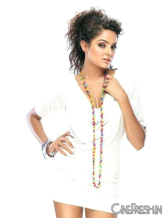 Asmita Sood White Top Hot - Asmita Sood Hot Pics in White Top Photoshoot