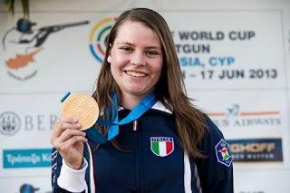 Silvana Stanco (ITA) - Fossa Olímpica - Copa do Mundo ISSF de Tiro ao Prato