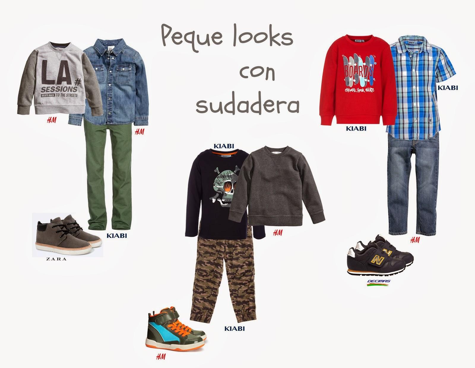 Looks Peques Sudadera