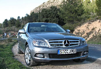 Mercedes C320 CDI Wallpaper