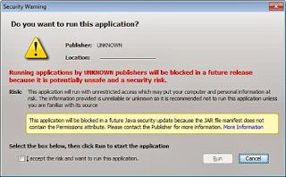 Ein Phantom-Fehler in der Java Sicherheitsprüfung