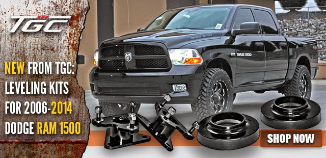 New TGC Dodge Ram 1500 Leveling Kits