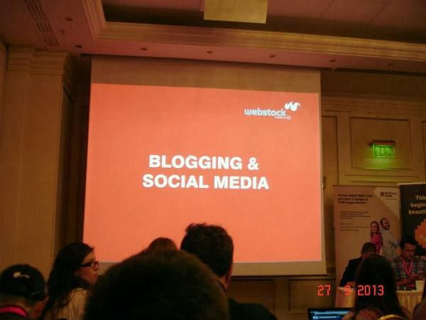 Blogging si Social Media la Webstock 2013
