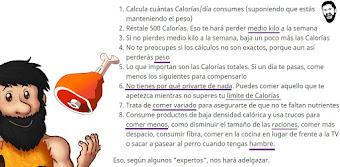 Las calorías son los padres