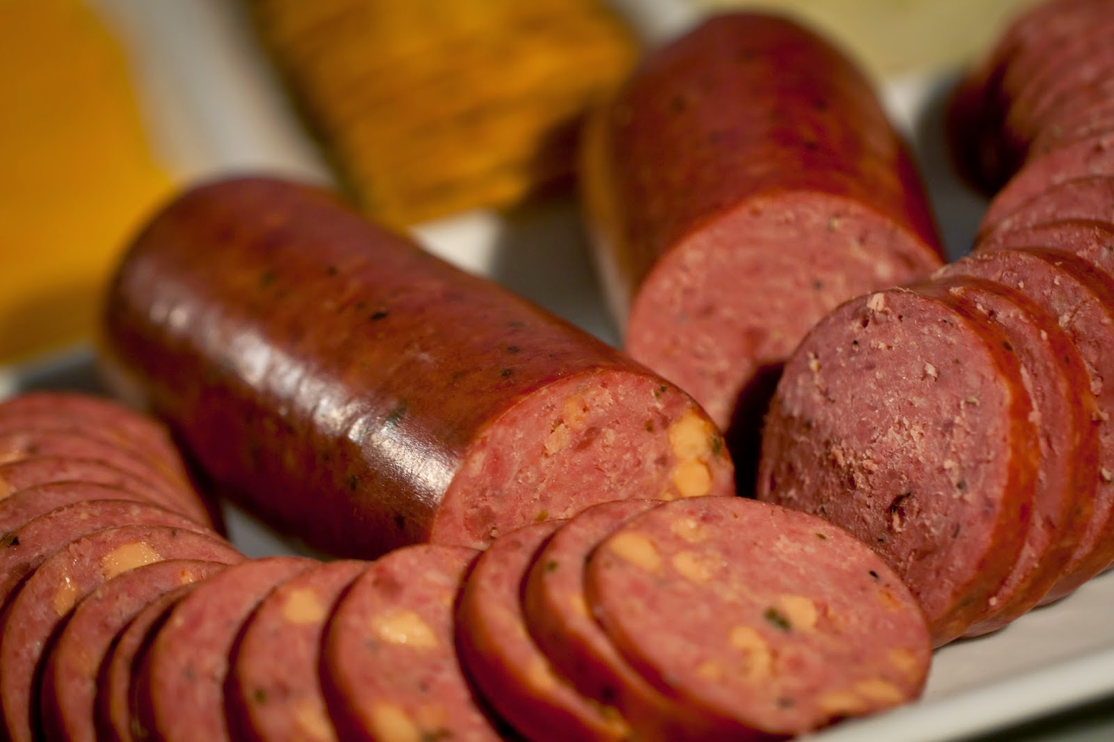 http://www.nebraskabison.com/collections/bison-sausages/products/bison-summer-sausage-variety-pack