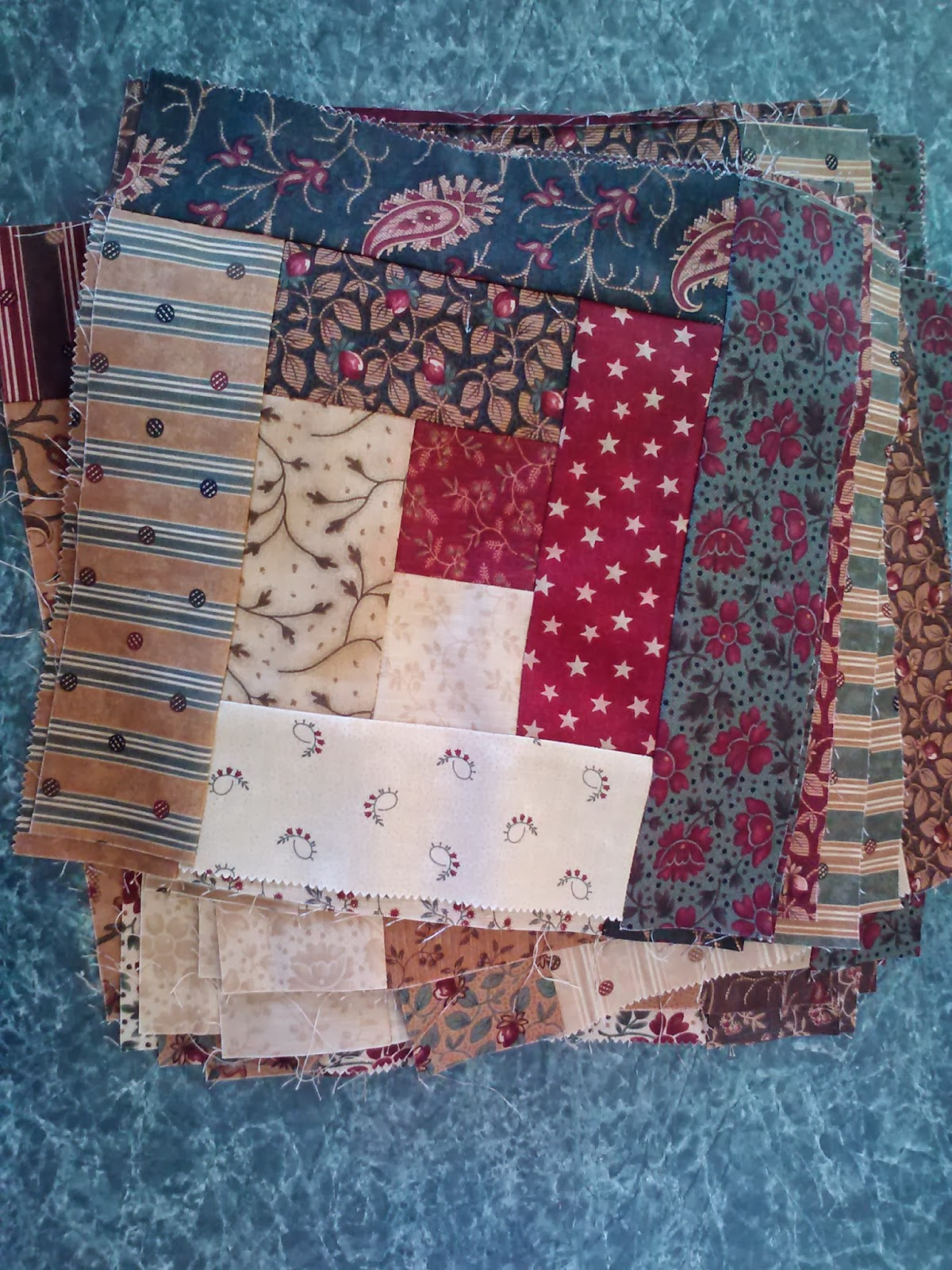 Happiness On A 1 2 Acre I Am Making A Log Cabin Quilt