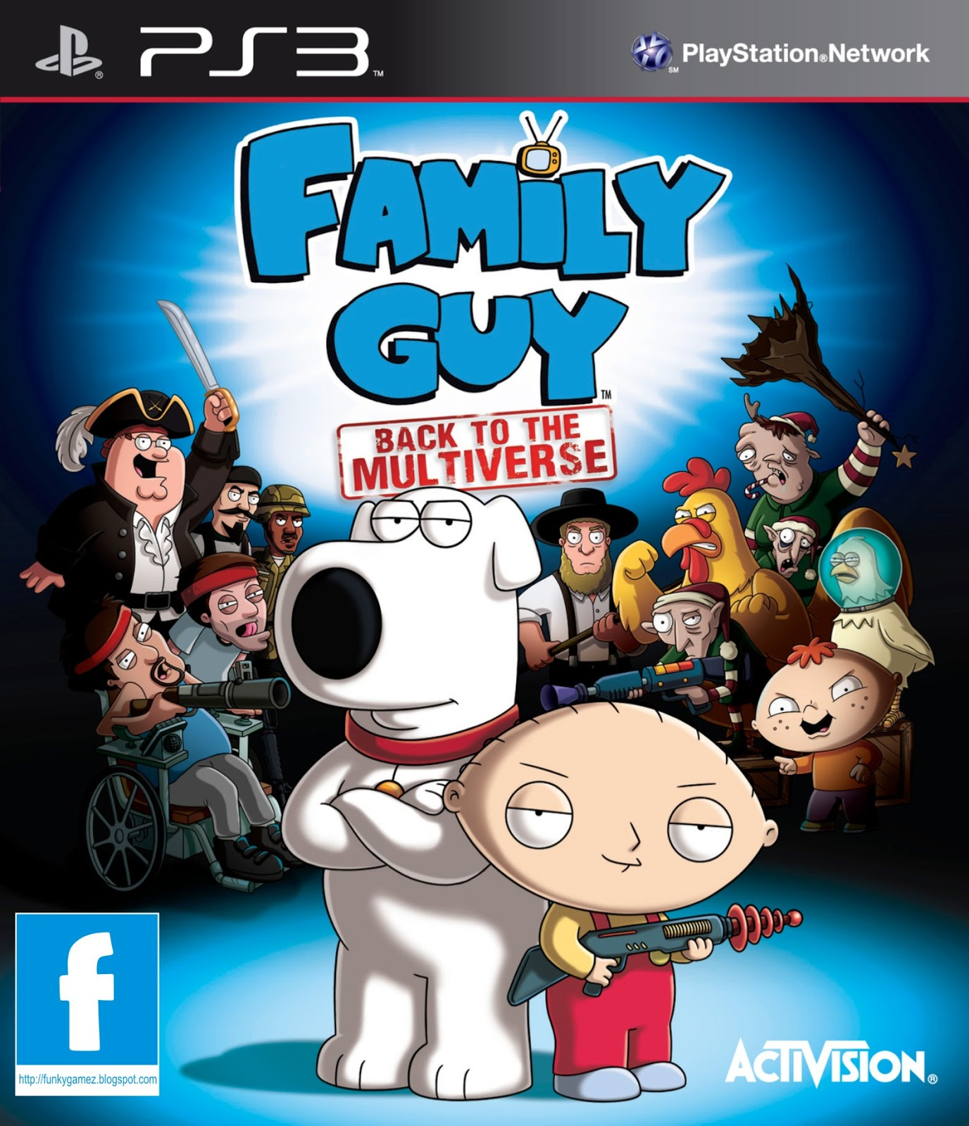 Family Games For Ps3 : Family guy back to the multiverse cfw ps iso games