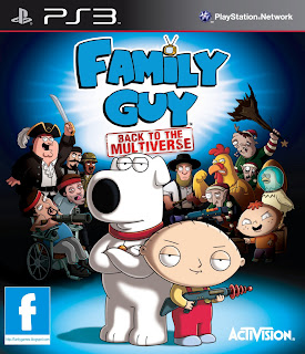 Family Guy Back To The Multiverse-PS3