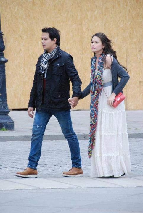 Cruz and bea alonzo shoot in vienna austria for a beautiful affair