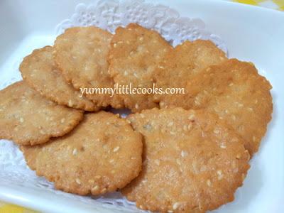 Kampar chicken Biscuit ( kai chai peng)