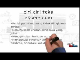 teks eksemplum pengertian ciri contoh struktur