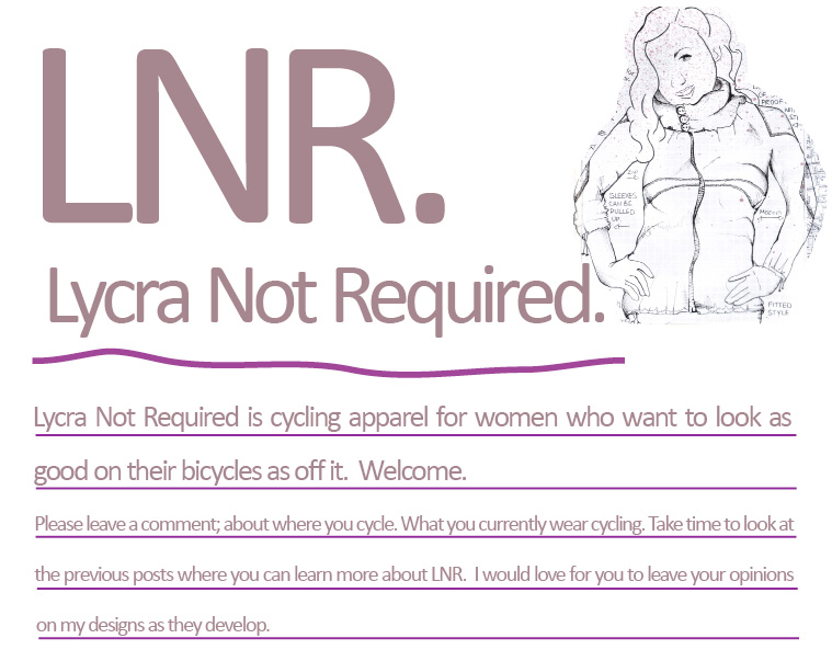 LNR. lycra not required