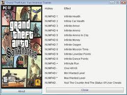 Download Gta San Andreas Cheat & Codes
