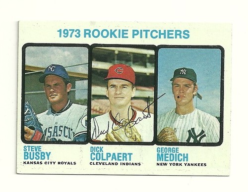 Dick Colpaert 1973 baseball card (1970 Pirates)