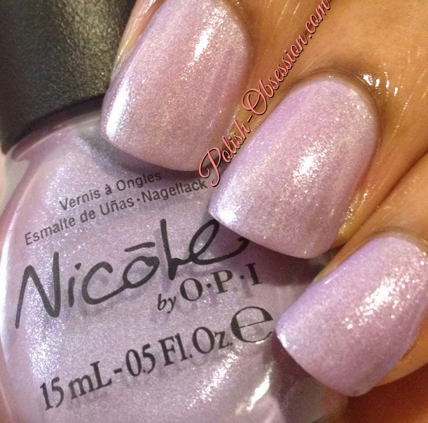 Nicole by OPI One Big Happy Fame-ily and Glitzology Pixie Dust ...