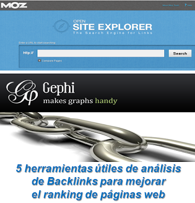 5 herramientas útiles de análisis de Backlinks