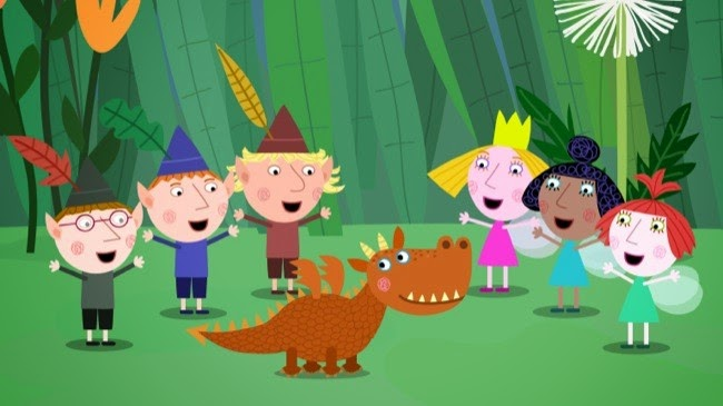 El pequeño reino del duende Ben y la princesa Holly