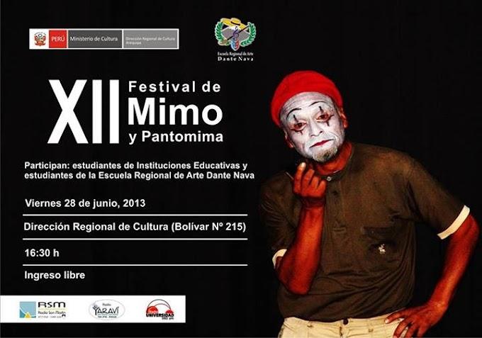 XII Festival de Mimo y Pantomima (28 junio)