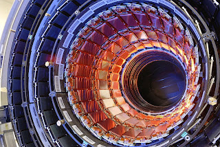 Photograph of the Compact Muon Solenoid (CMS) at CERN in Switzerland