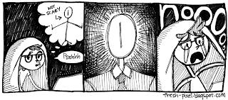 Slender comic
