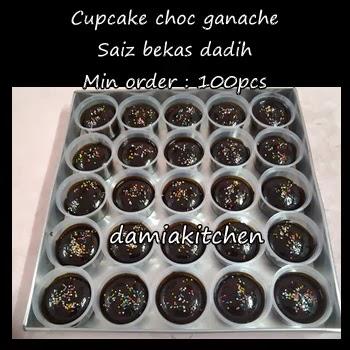Cupcake Coklat Ganache