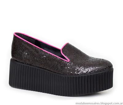 Zapatos creepers Jow otoño invierno 2013