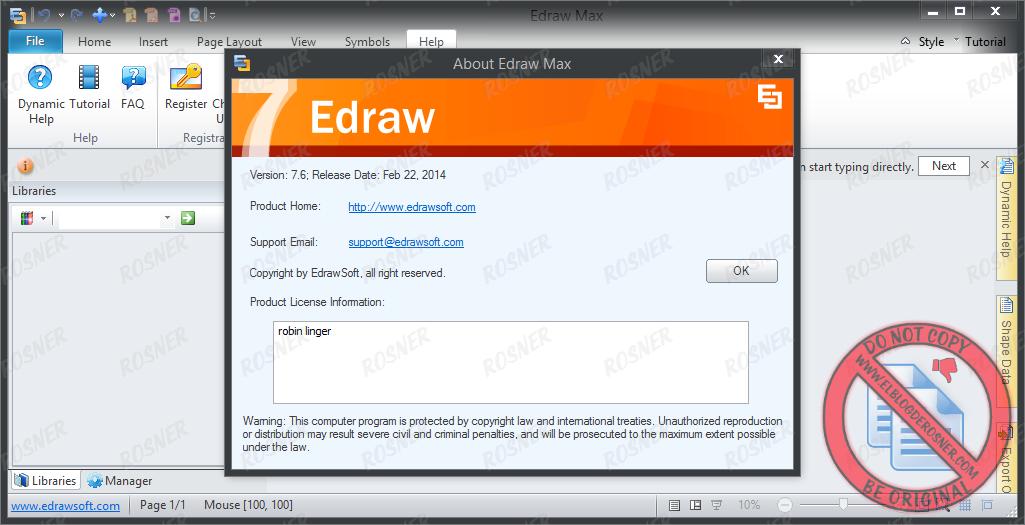 Edraw Max Pro 91 Crack + License Key Free Download Latest
