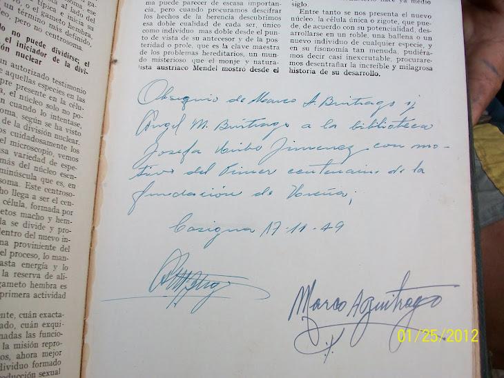 También estuvieron confundidos sobre la fecha de la fundación de Ureña: