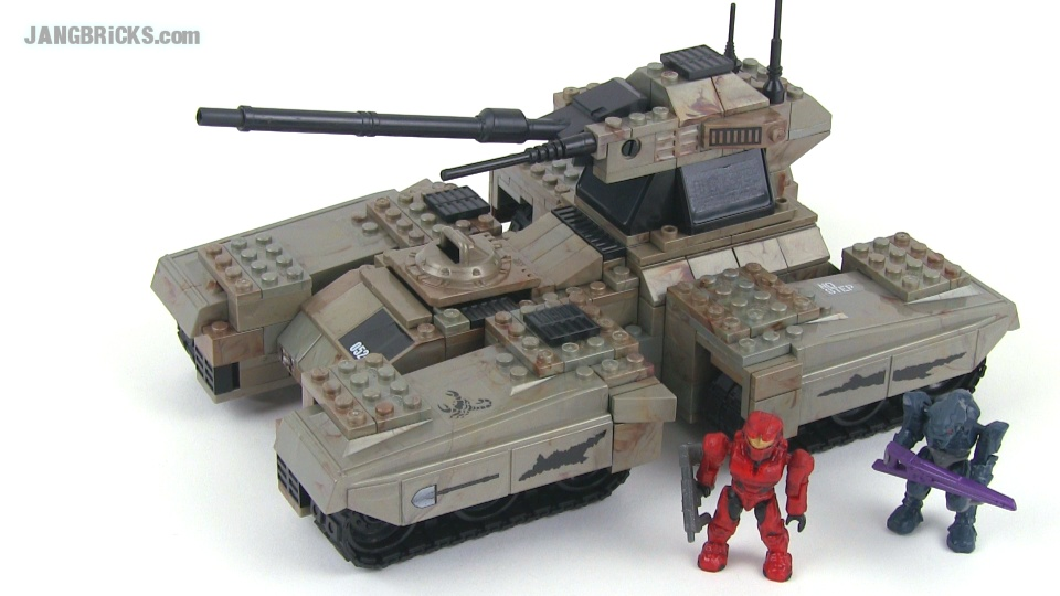 Mega Bloks Halo 96807 UNSC Scorpion Set Review