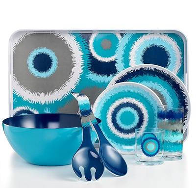 Jonathan Adler Dinnerware Ikat Melamine Collection | Everything ...