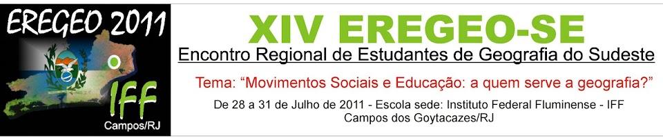 XIV EREGEO-SE - IFF Campos/RJ