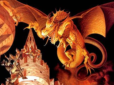 Dragón medieval