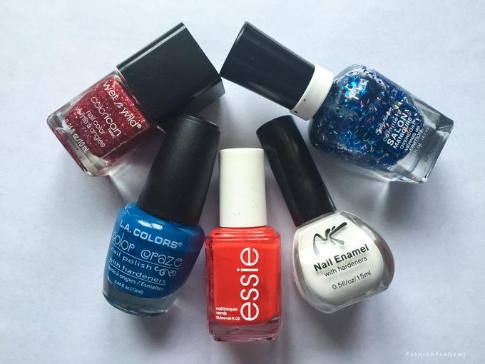 esmaltes nail polishes