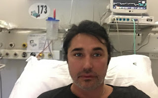 Giovanni Scialpi in ospedale