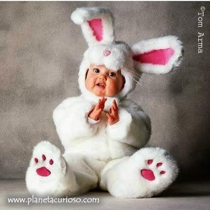 Babybilder Ostern