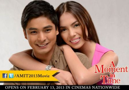 Coco-Julia Movie A Moment in Time opens February 13 in cinemas nationwide