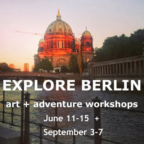 Join me in Berlin for art + adventure