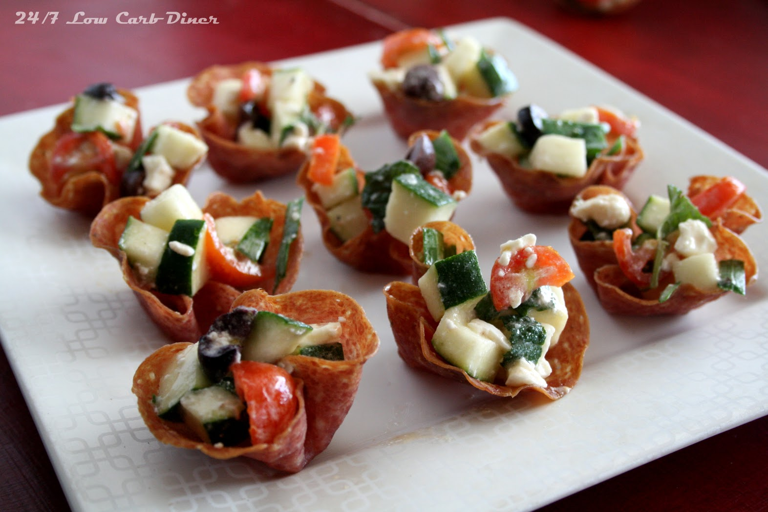 crispy salami cup appetizers 16 slices very thin salami 1