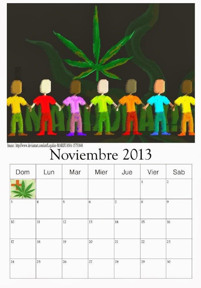 calendario novembro 2013