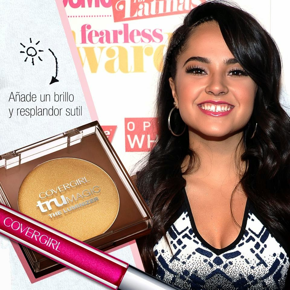Singer Becky G at Cosmopolitan for Latinas Fun Fearless Awards 2014 in New York City