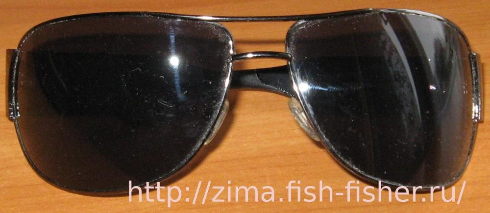 Очки солнцезащитные на зимней рыбалке - необходимая вещь