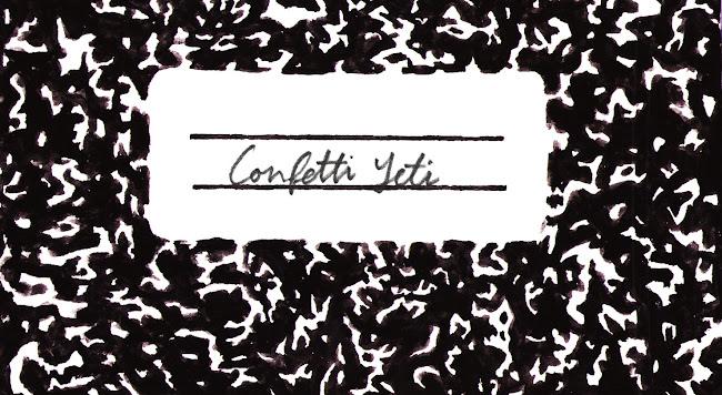 Confetti Yeti