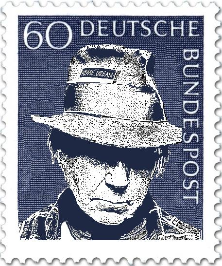 Neil Young Briefmarke