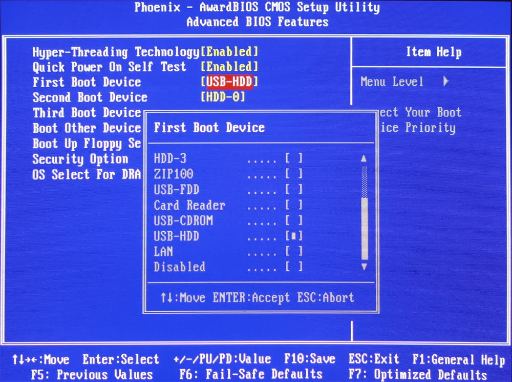 tricks booster how to change the boot order sequence
